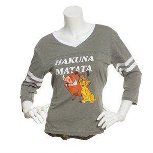 Freeze Size XL Disney Hakuna Matata Stripe T-Shirt